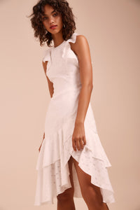 MAGNETISE SS DRESS IVORY
