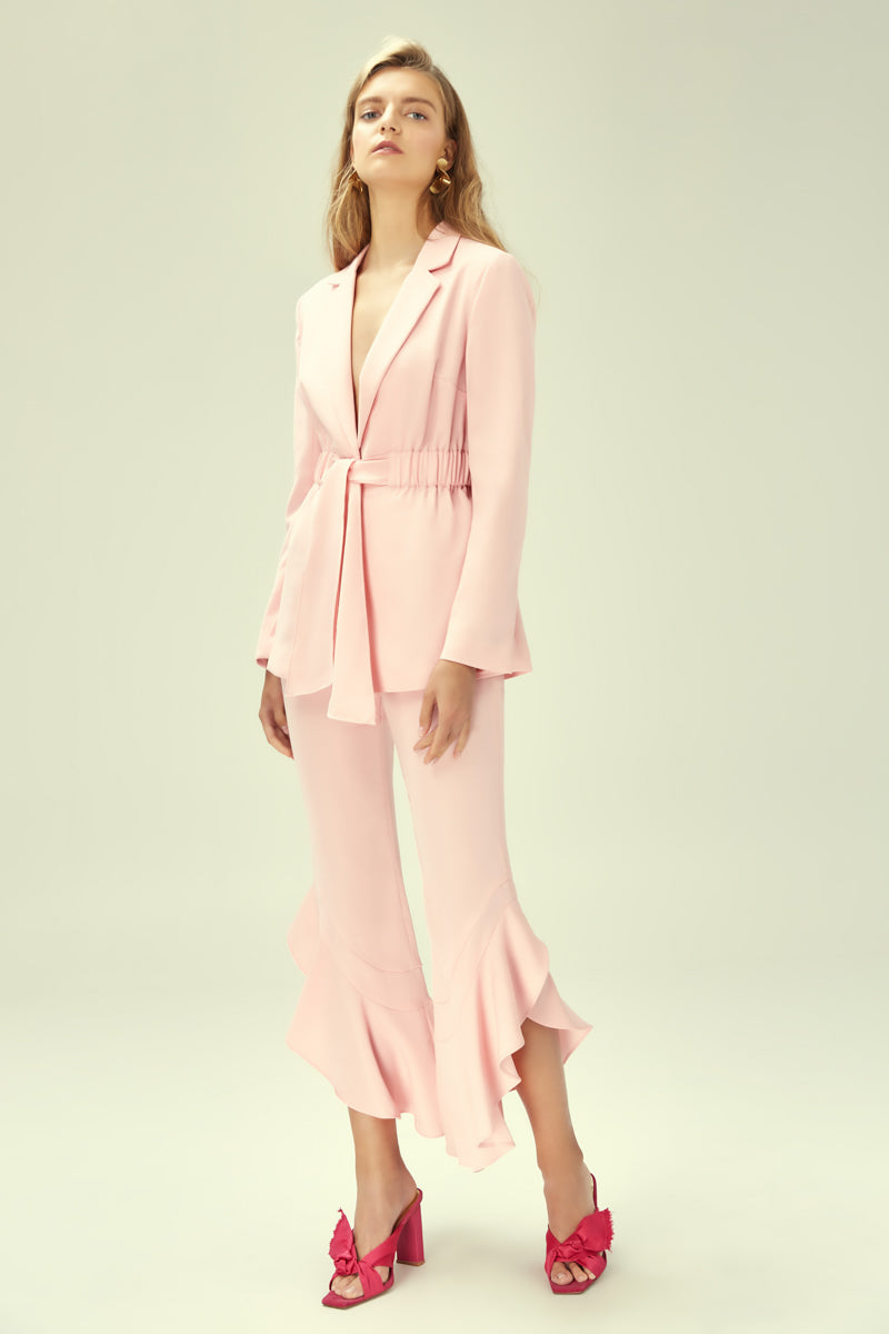 ONLY ONE BLAZER BLUSH PINK