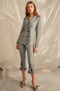 YOU OR ME BLAZER GREY MARLE
