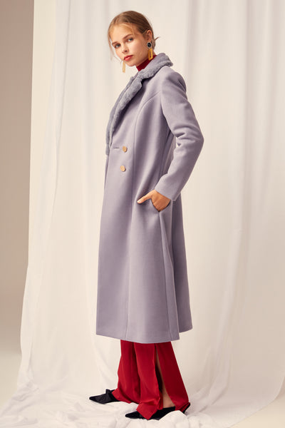 STATE OF MIND COAT GREY