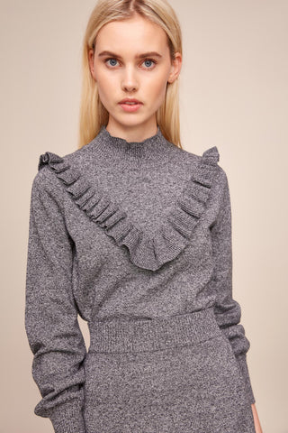 ARC KNIT TOP