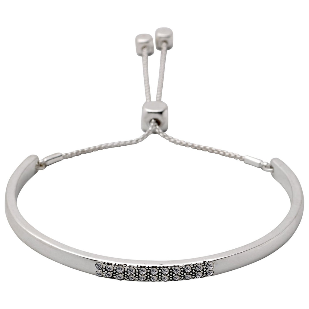 PILGRIM – ADJUSTABLE BRACELET SILVER