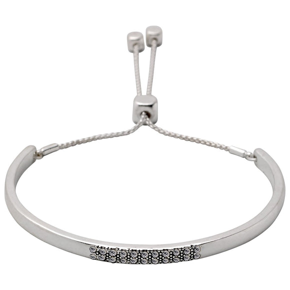ADJUSTABLE BRACELET SILVER