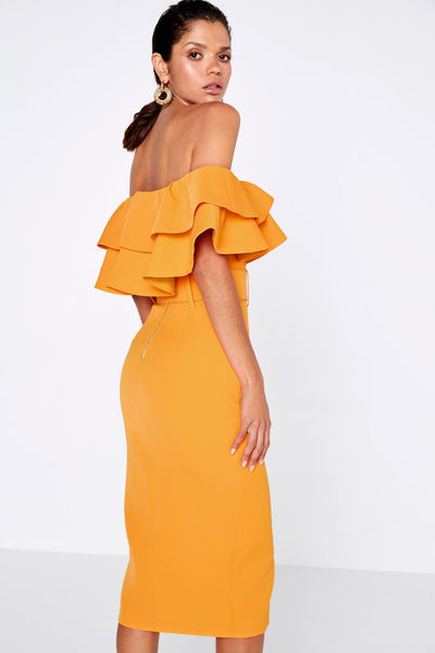 MOSSMAN – ISLAND NIGHTS DRESS - CITRUS