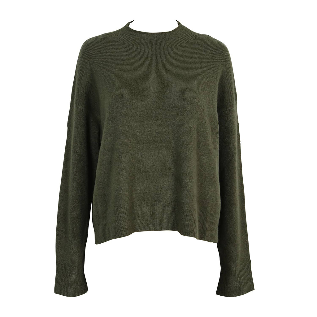 SLOW MOTION BOXY JUMPER KHAKI