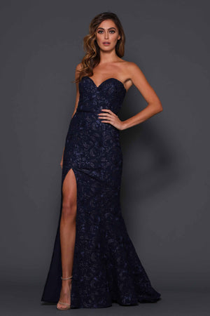 ELLE ZEITOUNE – LUXE-LILIANA MIDNIGHT DRESS