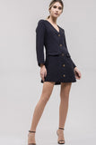 PRINCESS SEAM JACKET NAVY