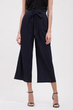 PAPERBAG WIDE LEG PANT NAVY