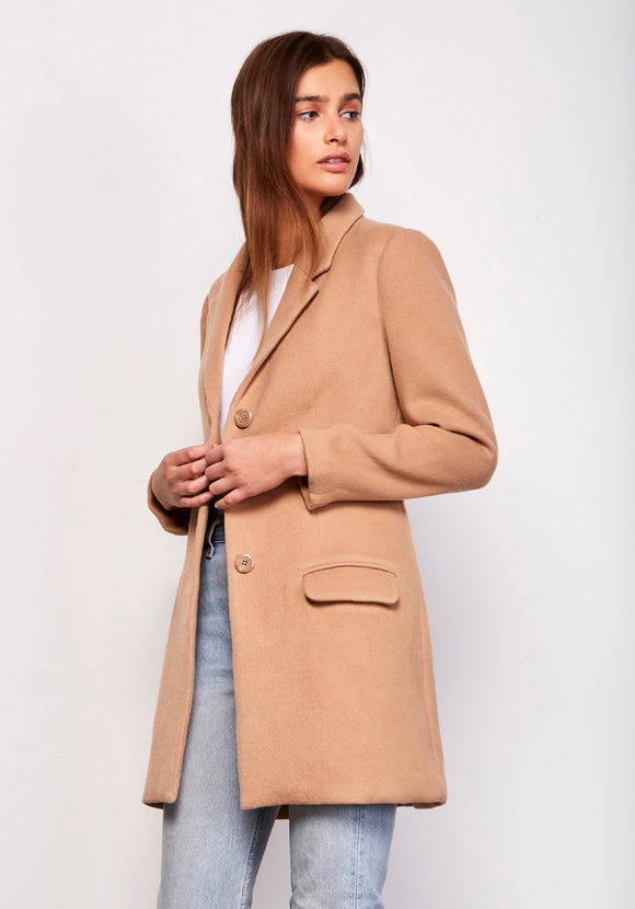 CAMEL WHISKEY BUSINESS COAT