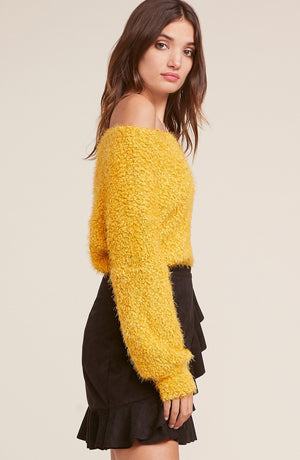 SHRUG IT OFF-MIMOSA SWEATER