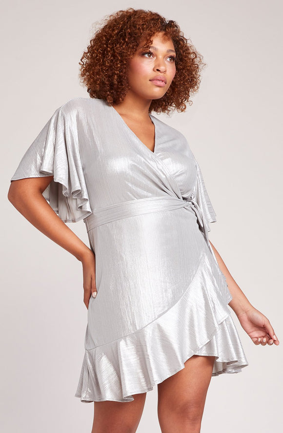 MOON DANCE SILVER DRESS