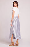STRIPE LIKE NAVY SKIRT