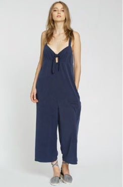 MEDITERRANEAN BLUE CLEMENT JUMPSUIT