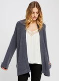 JULIENAS BLUE GRAPHITE CARDIGAN