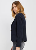 NEWTON NAVY STRIPE BLAZER