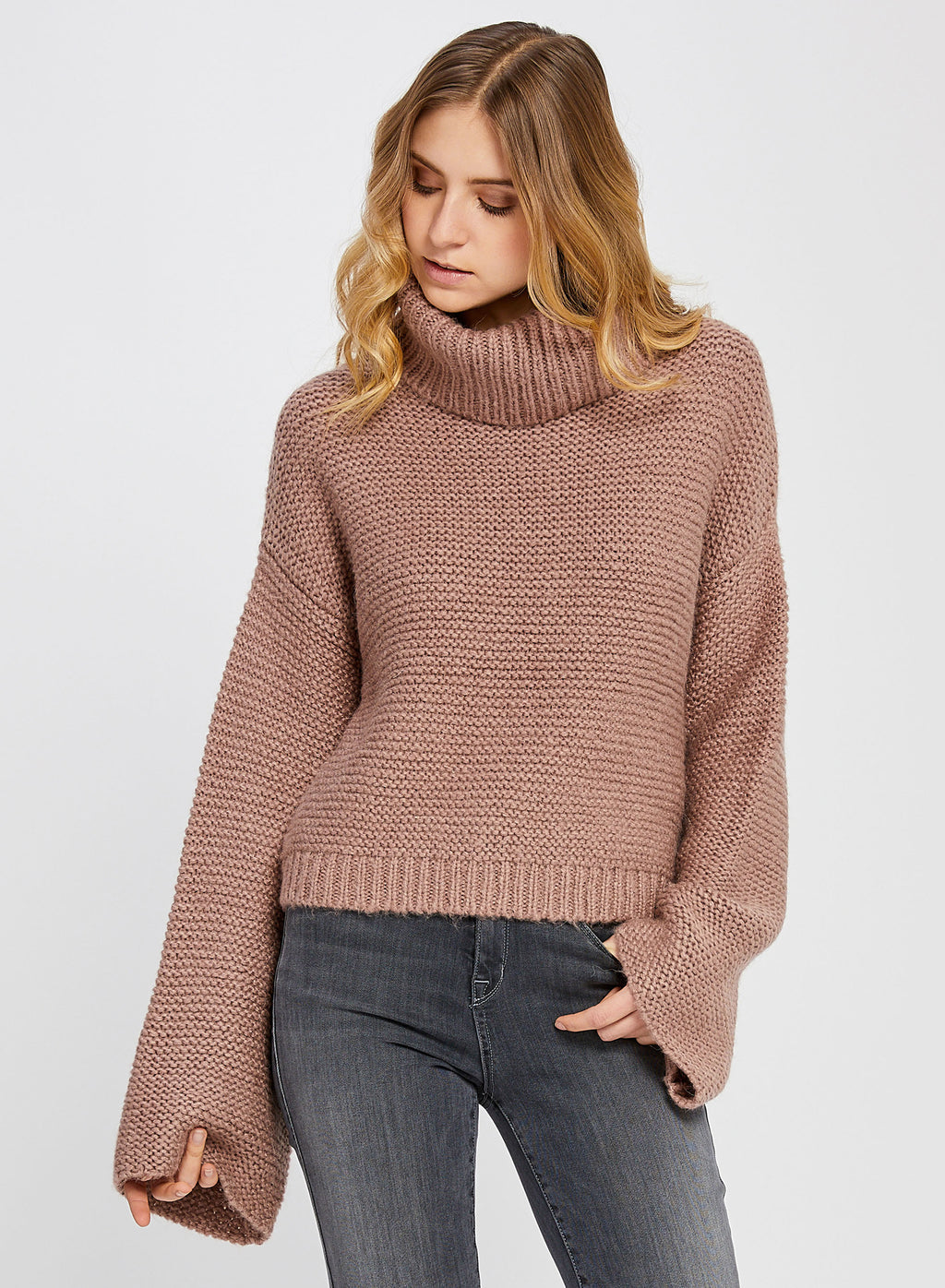 LORNE H.FAWN SWEATER