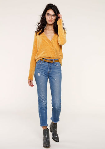 CHLOE SWEATER MARIGOLD
