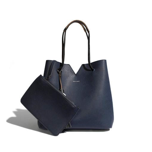PIXI MOOD – JASMINE BAG PEBBLED NAVY