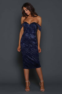 ELLE ZEITOUNE – MALIBU-LAYLA MIDNIGHT DRESS
