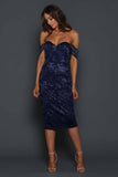 MALIBU-LAYLA MIDNIGHT DRESS