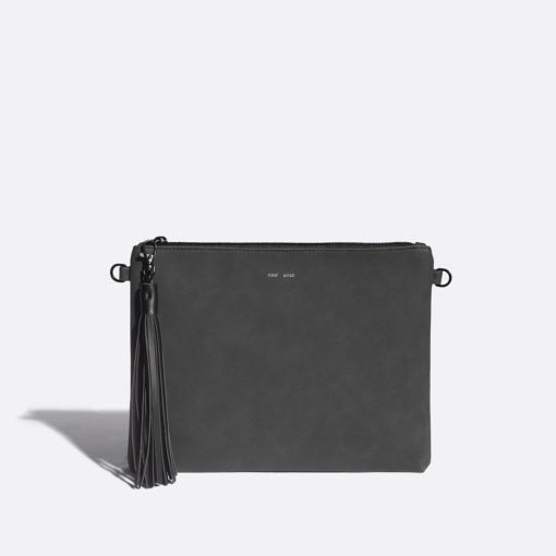 Michelle clutch pixie mood Black. Blush and Lace, fashion, women's, clutch, accessories, bags, Milton, Mississauga, Oakville, Toronto.