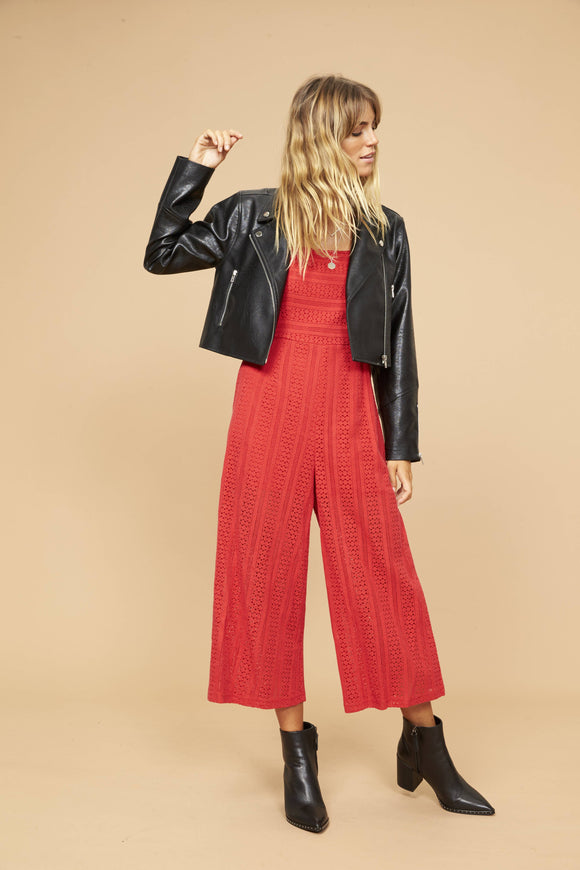 STARLIGHT JUMPSUIT RED
