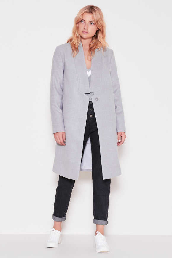 SEMINAR COAT GREY MARLE