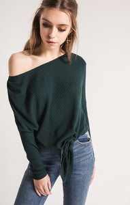 DANCE FOREST GREEN TOP