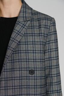 ANTHONY COBBLESTONE PLAID JACKET