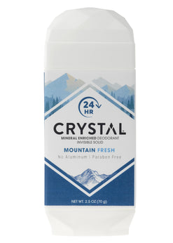 Mineral-Enriched Deodorant Invisible Solid - Mountain Fresh
