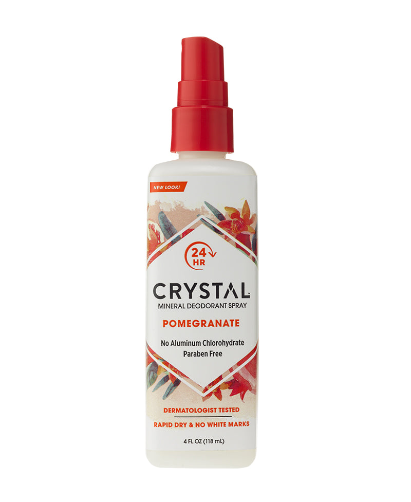 Mineral Deodorant Spray - Pomegranate