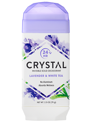 Invisible Solid Deodorant - Lavender & White Tea
