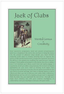 Jack of Clubs Birthday Card