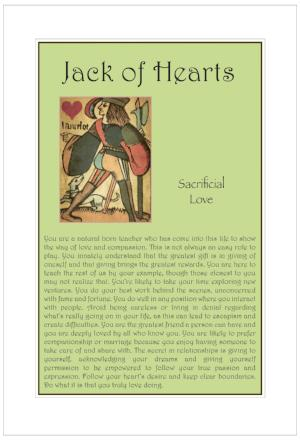 Jack of Hearts Birthday Card