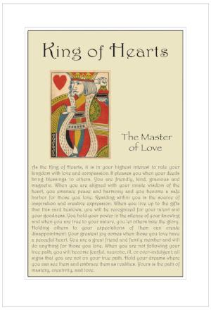 King of Hearts Birthday Card