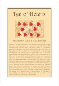 Ten of Hearts Birthday Card
