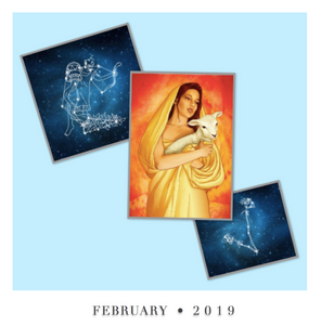 The Mystic Oracle - Daily Guide and Workbook for February 2019 (DIGITAL PRODUCT)