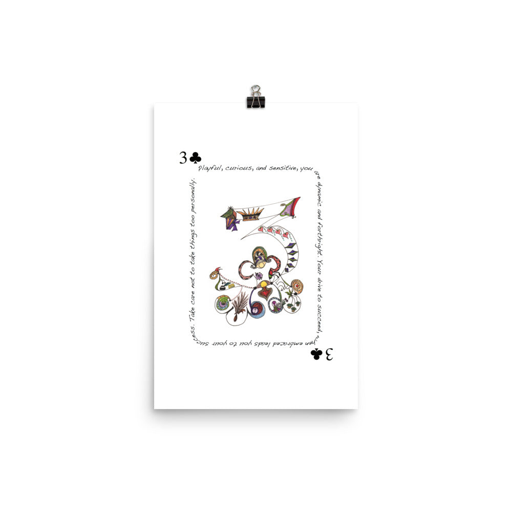3 of Clubs Poster