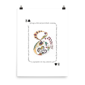 8 of Clubs Poster