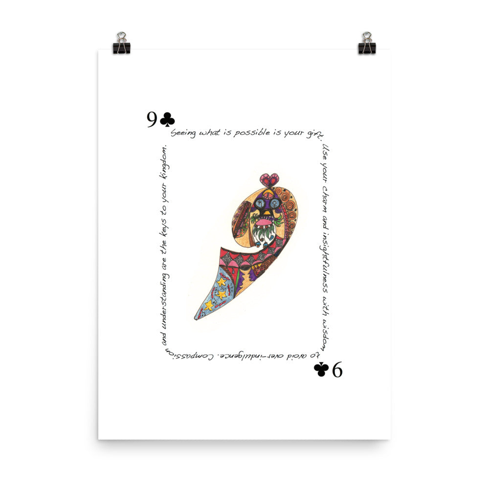 9 of Clubs Poster
