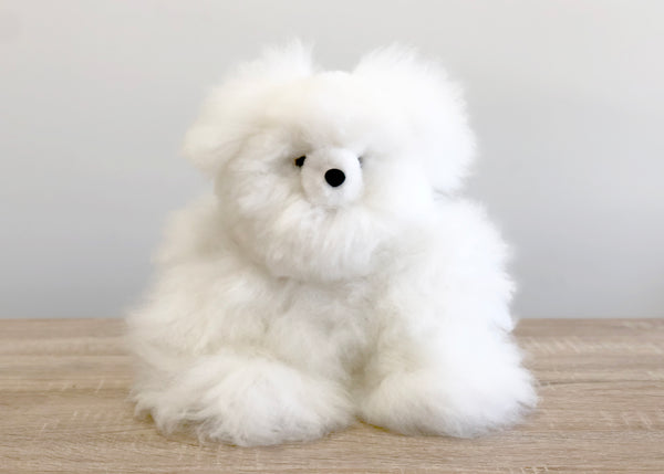 Alpaca Stuffed Animal - Bear - Small 10""