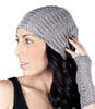 Alpaca Beanie Seashell Gravel by Shupaca