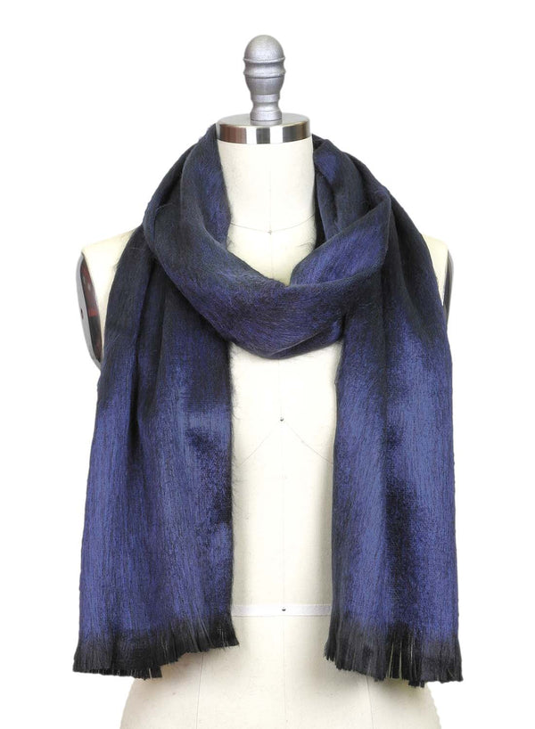 Alpaca Scarf Moonlight Blue by Shupaca