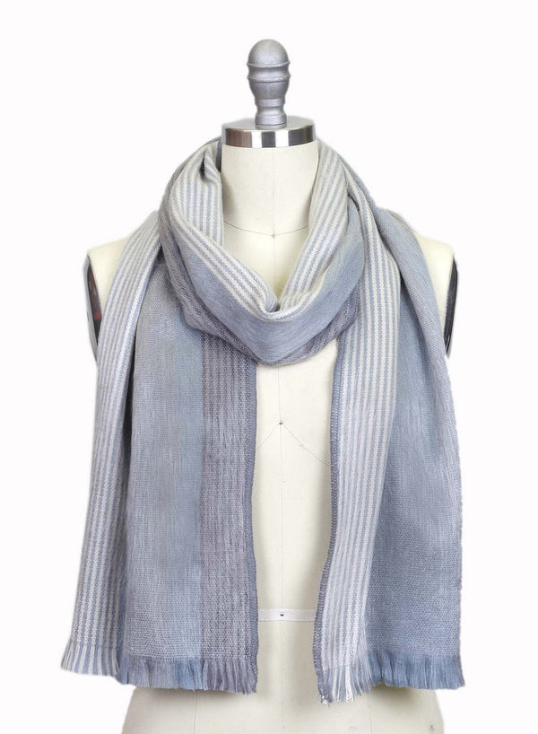 Alpaca Scarf Polar Drift by Shupaca