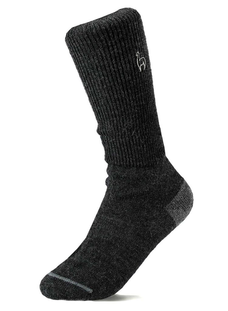 Alpaca Socks Business Black by Shupaca