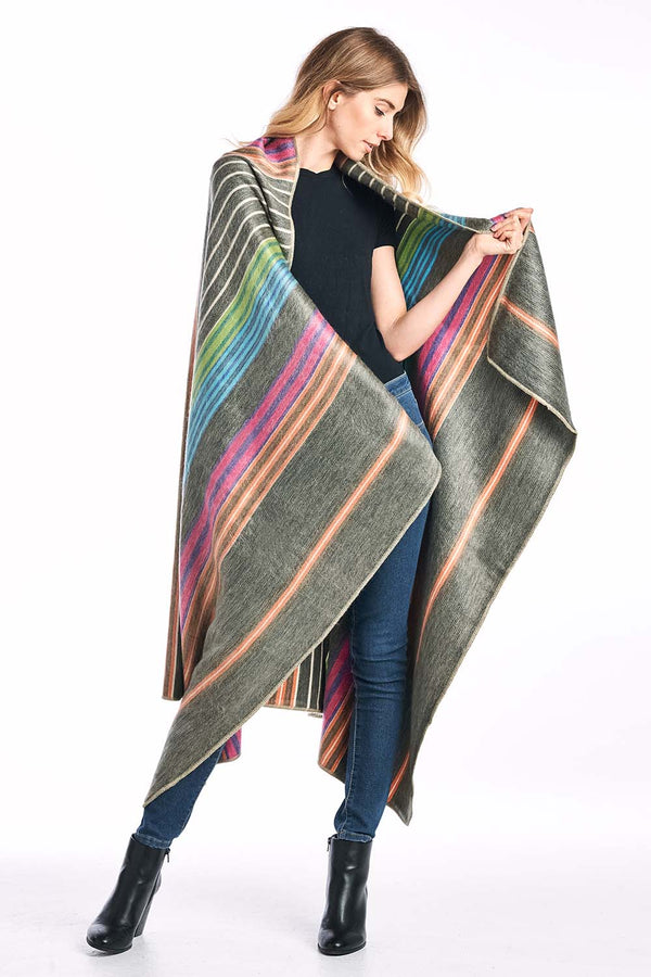 Fireworks Alpaca Throw Blanket by Shupaca