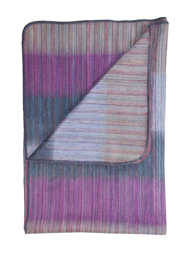 Alpaca Throw Blanket Patchwork by Shupaca