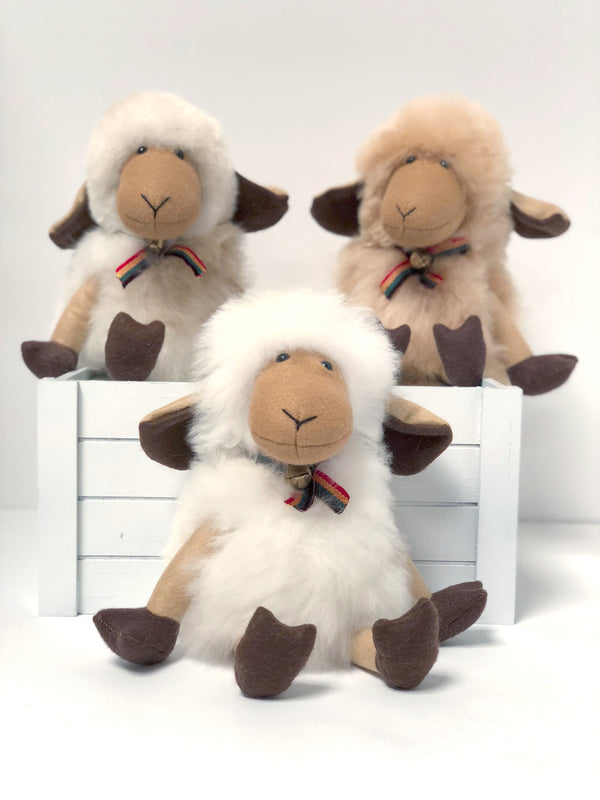 Alpaca Stuffed Animal - Sheep 14""