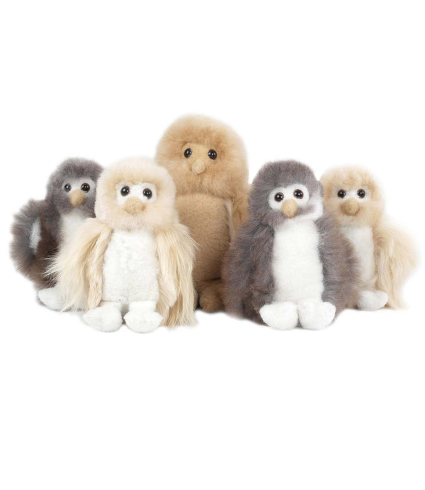 Alpaca Stuffed Animal - Owl - Small
