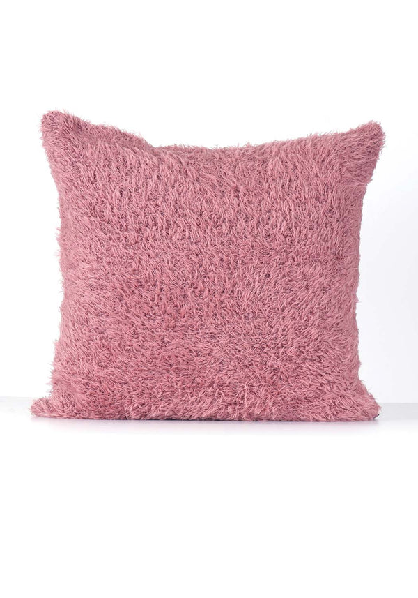 Alpaca Pillow Case - Fur - Rose Quartz